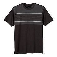 Mens prAna Marco Crew Short Sleeve Non-Technical Tops