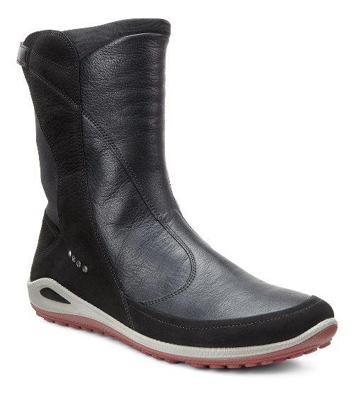 Womens Ecco BIOM Grip Lite Hi Casual Shoe - Black/Black 40