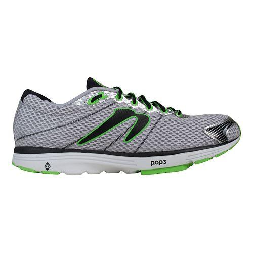 Mens Newton Running Aha Running Shoe - Grey/Black 11