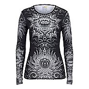 Womens YMX Radiant Core Long Sleeve Technical Tops
