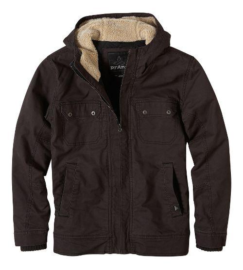 Mens prAna Apperson Lightweight Jackets - Charcoal XL