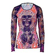 Womens YMX Garnet Core T-Shirt Long Sleeve Technical Tops