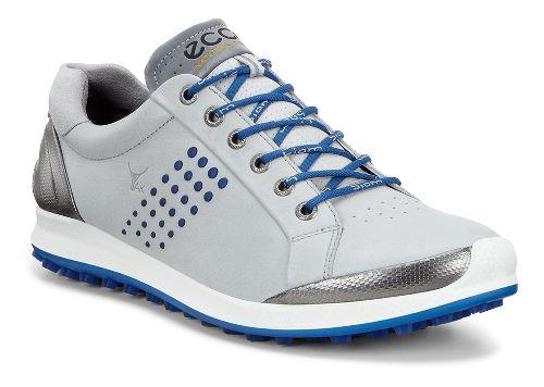 Mens Ecco BIOM Hybrid 2 Cleated Shoe - Concrete/Royal 39