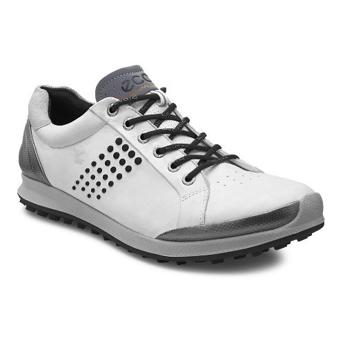 Mens Ecco BIOM Hybrid 2 Cleated Shoe - White 45