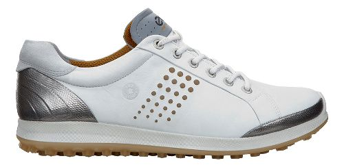 Mens Ecco BIOM Hybrid 2 Cleated Shoe - White/Mineral 44