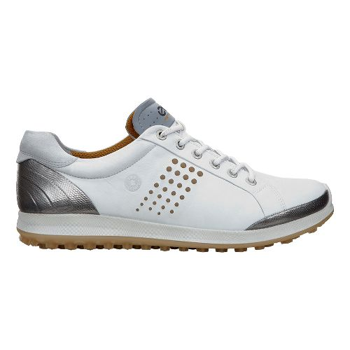 Mens Ecco BIOM Hybrid 2 Cleated Shoe - White/Mineral 43