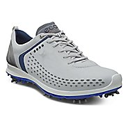 Mens Ecco BIOM G 2 Cleated Shoe - Concrete/Royal 45