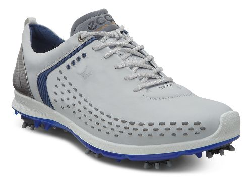 Mens Ecco BIOM G 2 Cleated Shoe - Concrete/Royal 46