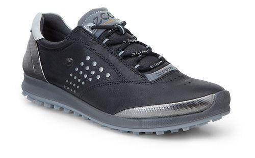 Womens Ecco BIOM Hybrid 2 Cleated Shoe - Black/Silver 39