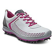 Womens Ecco BIOM G 2 Cleated Shoe - White/Candy 40