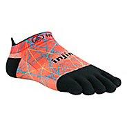 Injinji RUN Lightweight No Show Spectrum Socks