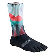 Injinji TRAIL Midweight Crew Spectrum Socks