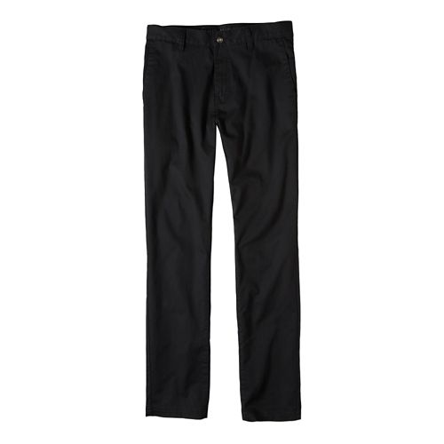 Mens prAna Table Rock Chino Pants - Black 30
