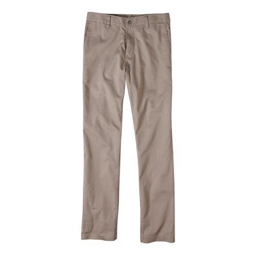 Mens prAna Table Rock Chino Pants - Dark Khaki 28