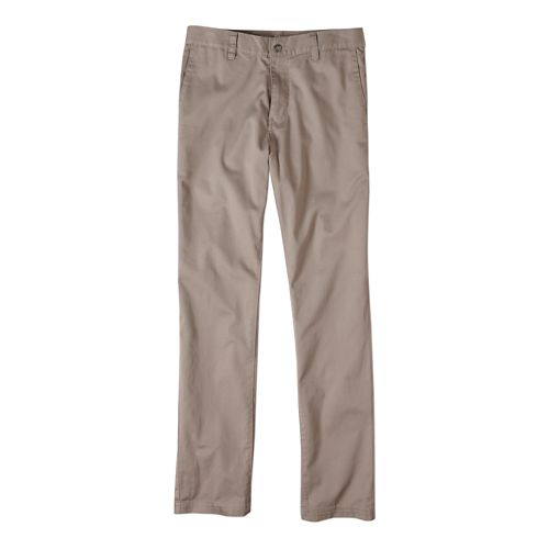 Mens prAna Table Rock Chino Pants - Dark Khaki 34