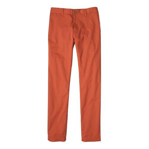 Mens prAna Table Rock Chino Pants - Red 32