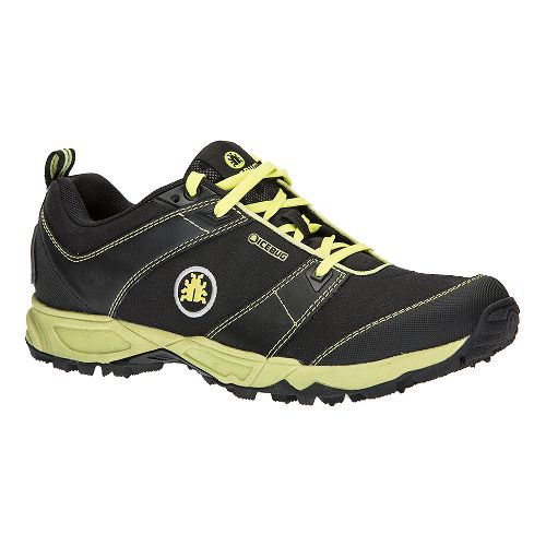 Mens Icebug Pytho3 BUGrip Trail Running Shoe - Black/Poison 12.5