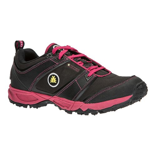 Womens Icebug Pytho3-L BUGrip Trail Running Shoe - Black/Peony 8.5