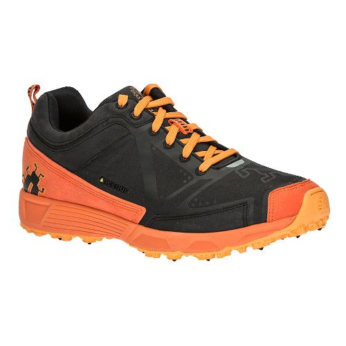 Mens Icebug DTS2 BUGrip Trail Running Shoe - Black/Poison 15