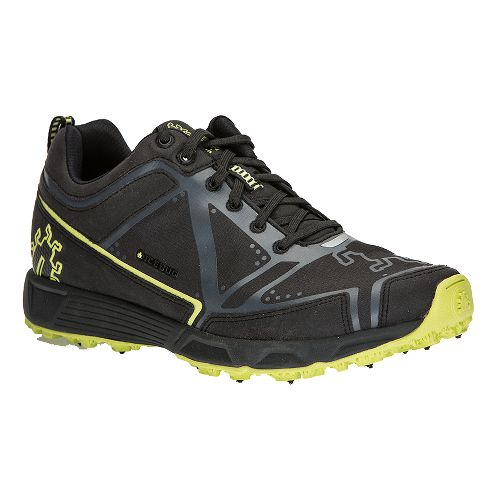 Mens Icebug DTS2 BUGrip Trail Running Shoe - Black/Sunset 11.5