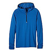 Mens prAna Breaker Hooded 1/4 Zip Hoodie & Sweatshirts Technical Tops