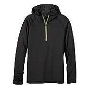 Mens prAna Breaker 1/4 Zip Hoodie & Sweatshirts Technical Tops