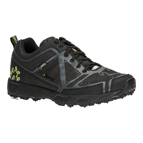 Mens Icebug DTS2 BUGrip GTX Trail Running Shoe - Black/Charcoal 12.5