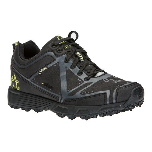 Womens Icebug DTS2-L BUGrip GTX Trail Running Shoe - Black/Charcoal 10.5