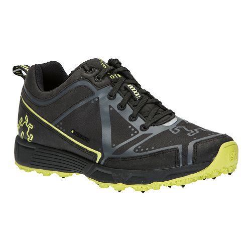 Womens Icebug DTS2-L BUGrip Trail Running Shoe - Black/Poison 6