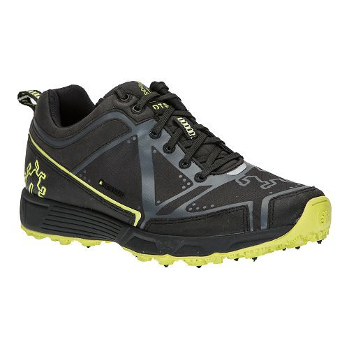 Womens Icebug DTS2-L BUGrip Trail Running Shoe - Black/Poison 6.5