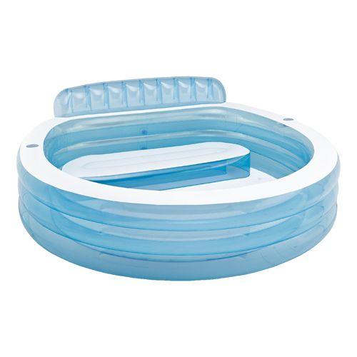 Intex Swim Center Family Lounge Pool Fitness Equipment - Blue/White