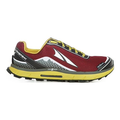 Mens Altra Lone Peak 2.5 Trail Running Shoe - Rio Red 10