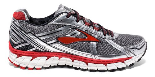Mens Brooks Defyance 9 Running Shoe - Charcoal/Silver 8