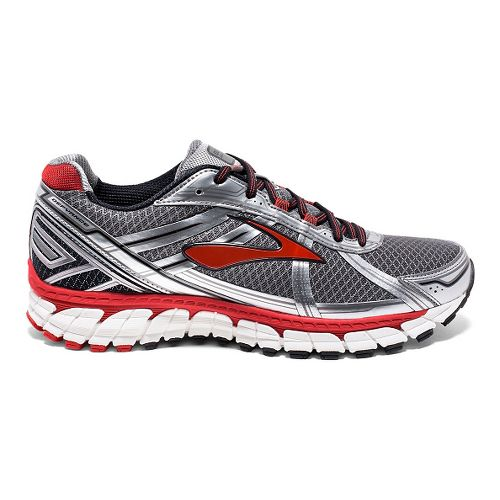 Mens Brooks Defyance 9 Running Shoe - Charcoal/Silver 9.5