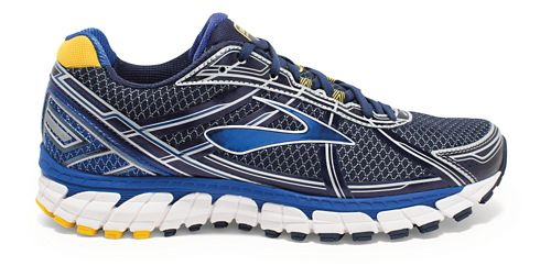 Mens Brooks Defyance 9 Running Shoe - Peacoat/SurfTheWeb 12