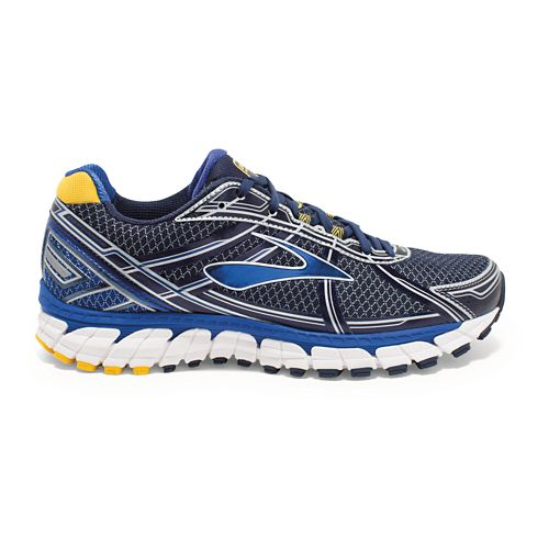 Mens Brooks Defyance 9 Running Shoe - Peacoat/SurfTheWeb 8.5
