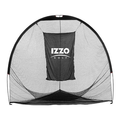 Izzo Golf Tri-Daddy Hitting Net Fitness Equipment - Black