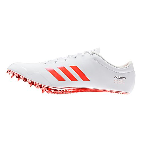 adidas Adizero Prime SP Racing Shoe - White/Red/Metallic 10.5