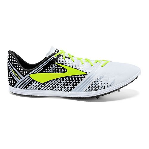 Brooks Wire 4 Track and Field Shoe - White/Black 7.5