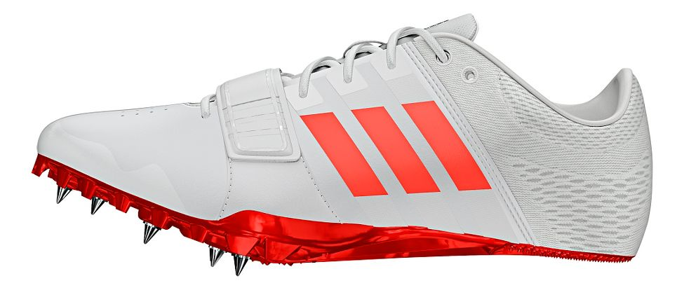adidas® Adizero Accelerator :: For technical sprinters and curve-specific running. Seamless upper designed using a laminate composite : Locks the foot down, allows for maximum comfort and increasing durability. Provides maximum energy return from a spike. Lightweight.   This web exclusive item ships separately within the continental U.S. only. You can count on this item to ship in 3-5 business days!