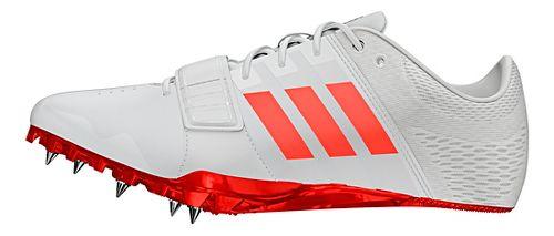 adidas Adizero Accelerator Racing Shoe - White/Red/Metallic 13
