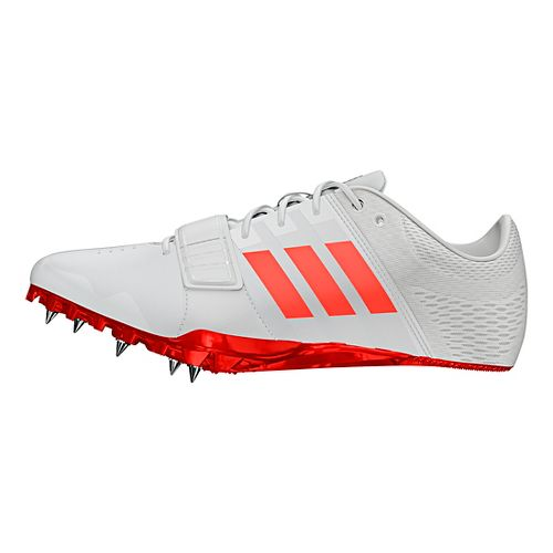 adidas Adizero Accelerator Racing Shoe - White/Red/Metallic 10