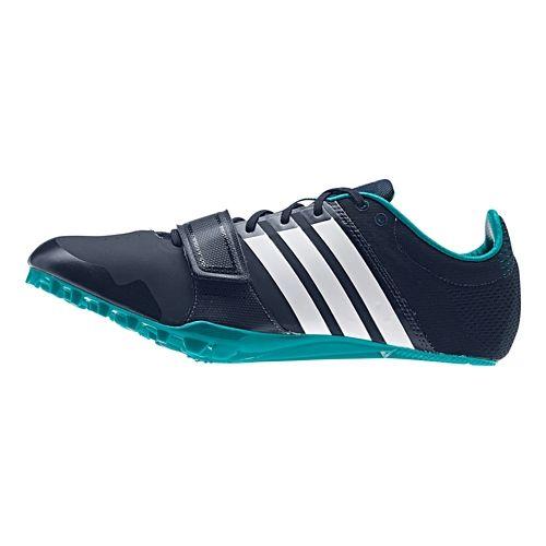 adidas Adizero Accelerator Racing Shoe - Navy/Green 10.5