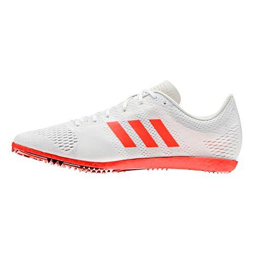 adidas Adizero Avanti Racing Shoe - White/Red/Metallic 10.5