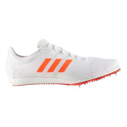 adidas Adizero Avanti Track and Field Shoe - White/Red 7.5