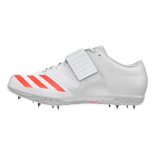 adidas Adizero HJ Racing Shoe - White/Red/Metallic 11