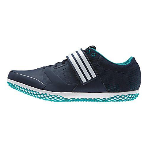 adidas Adizero HJ Racing Shoe - Navy/Green 10.5
