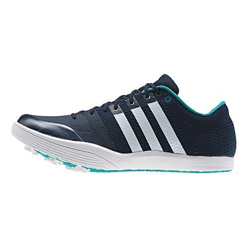 adidas Adizero LJ Racing Shoe - Navy/Green 11