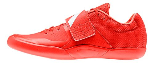 adidas Adizero Discus/Hammer Racing Shoe - Red/White/Red 9.5