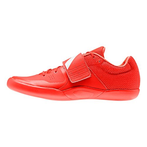adidas Adizero Discus/Hammer Racing Shoe - Red/White/Red 12.5